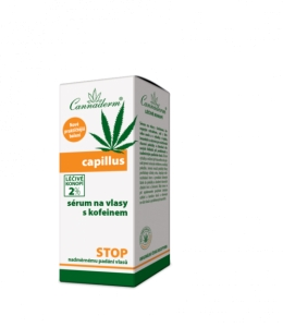 CAPILLUS  serum do włosów z kofeiną 40ml - Cannaderm