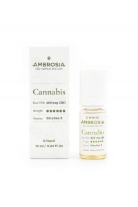 Eliquid Ambrosia Cannabis CBD 400mg Enecta  10ml