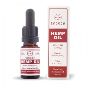 Olej konopny 15% CBD 1500mg 10ml Endoca