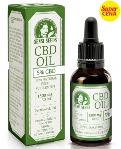 Olej CBD 5% 30ml Sensi Seeds 1500mg CBD