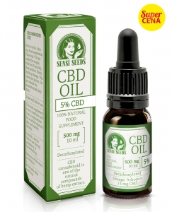 Olej CBD 5% 10 ml Sensi Seeds 500mg CBD