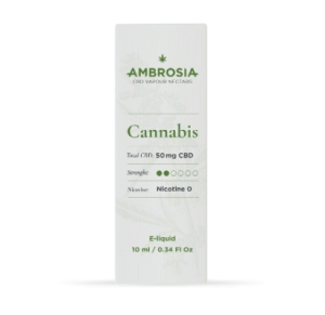 Eliquid 50 mg CBD Ambrosia Cannabis Enecta 10ml